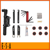 2015 Bicycle Tire Repair Kit,Cheapest steel cycling tools for outdoors bicycle tool,Portable wholesale cycling tool set T18B032