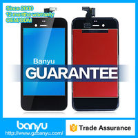 100% brand new lcd glass touch screen assembly for iphone 4s screen
