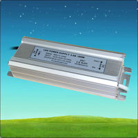 0.98PFC 88% EFF IP67 constant current led driver 3000ma 100w