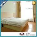 中国のサプライヤー木製のホテルのベッド