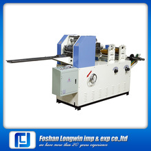 Folding and cutting towel paper machine,equipment for production of hand paper towels