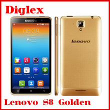 China Wholesale Original Lenovo S8 S898T+ Golden Octa Core MTK6592 Android 4.2 Smart Phone 5.3 inch 2GB RAM 16GB ROM 13MP GSM