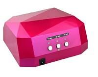 Best price 36W LED Light Diamond Shaped Curing Nail Dryer Nail Art Lamp Care Machine for UV Gel Nail Polish EU/US Plug 5pcs