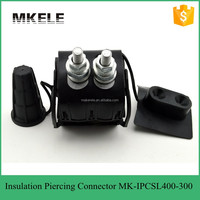 MK-IPCSL400-300 Wire electrical high power Insulation Piercing Connector For Insulated Overhead Line