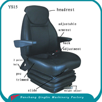 heavy duty truck spare part seat,light truck spare part seat, truck seat for sale(YS15)