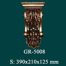 Polyurehtane antiguo Corbel para moderna decoración del hogar