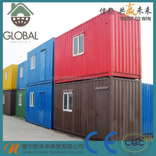 Prefab modular 40 feet container house for living