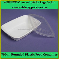 Customizable color/design plastic food box