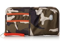 embroidered wallet plastic bag document wallet tri fold wallet