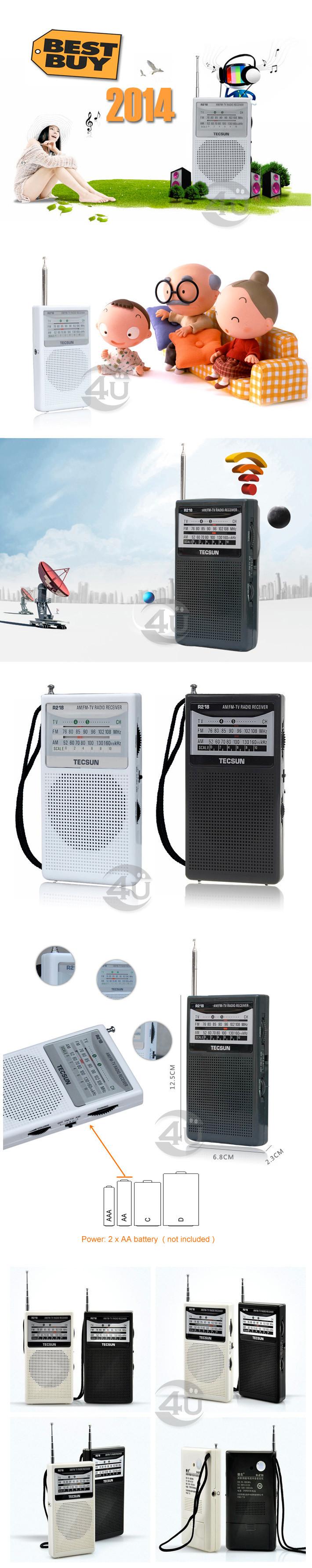 Радио FM /am TECSUN r/218. . . . R218