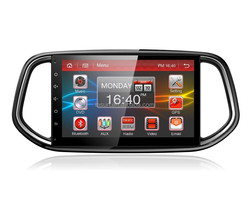Android 4.4 car navigation system with Mirror link for KIA KX3