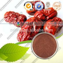100% natural de color rojo azufaifa extracto/ziziphi fructus extracto jujubae
