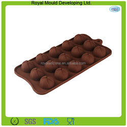 steamed bun/dumplings shape silicone molds for chocolate