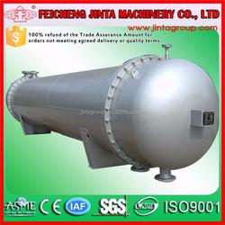 floating head copper tube coil heat exchanger, tube shell heat exchanger