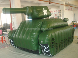 inflatable giant decoration tank / giant military tank for promotion event using