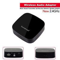 New 2.4GHz Wireless Audio Adapter Music Sound Transmitter and Receiver Wireless Speaker Adapter