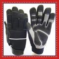 de cuero sintético completo de caza dedo guantes tácticos para al aire libre