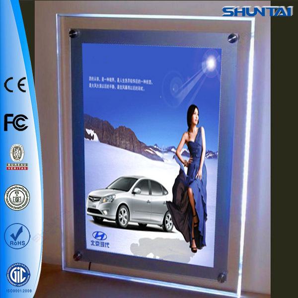 Lighting Advertising Crystal Led Shadow Box Frames Wholesale - Buy ...