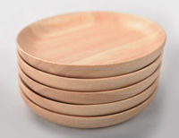 Wholesale Cheap Restaurant eco-friendly Wooden Food Serving Plate
