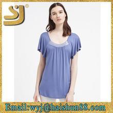 high quality chinese t shirt oem supplier,new clothing cotton oem women tshirt
