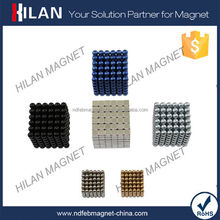 216 pcs Diameter 5mm Buckyballs neocube Magic Puzzle Magnetic Magnet Balls learning & Education Toy +Box