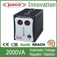 2000va regulated power supply,Classic series 80-260vac regulator with digital technology