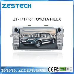 alibaba car radio for toyota Hilux gps navigation with bluetooth 3G radio gps dvd dvb-t