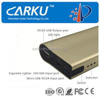 2015 quality portable power bank usb output 5v 2a 6000mah battery charge