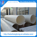 Tubería de PVC de 500mm, gran diámetro para suministro de agua, tubería de plástico de gran diámetro, tubería de agua de tipos de plástico