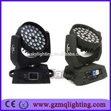 moving head light 36*18W 6 in 1 professional stage lighting /dj show equipment