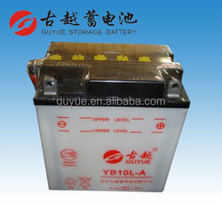 12V Dry Charged Lead-Acid Battery for Motorcycle