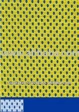 Bright Yellow 100% Polyester Mesh Fabric