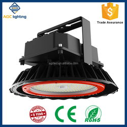 Stadium/Soccer field application 140lm/W LED high bay light fixtures with Dali LED driver/Zigbee wireless control UL&DLC listed
