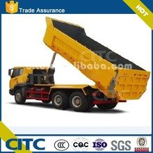 40 cubic meter 80tons rear dump tipper semi trailers for sale