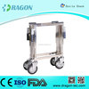 DW-10B High Quality Cheap Flexible Steel Coffin Trolley