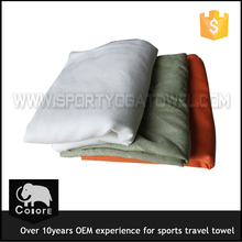 Multifunction mini fast drying travel towels with mesh bag