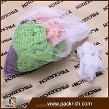 Wholesale traveling storage foldable nylon mesh bags