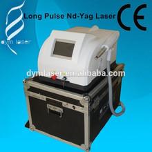 Vena depilación y depilación rápida máquina médica pulso largo Nd Yag láser