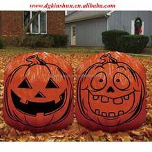 Personalized orange Halloween pumpkin,pumpkin leaf bag