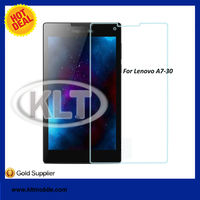KLT 9H 0.3mm Tempered Glass screen protector guard film for Lenovo A7-30 A3300 Tablet