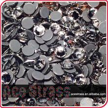 super sparkling quality ss3 ss4 to ss20 ss30 hot fix crystal hotfix rhinestone flatback rhinestone crystal clear