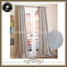 100% de poliéster cortina de la ventana diseños