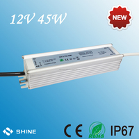 LED fluorescent lamp power supply waterproof electronic led driver 12v 45w