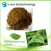 1-DNJ mulberry leaf extract from our own plant base