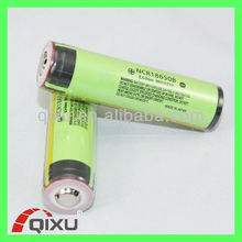 CE approved 18650 3400mAh 3.7V rechargeable li-ion battery