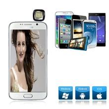 New Best design mini portable led flash light , selfie flash led which built-in16 led lights