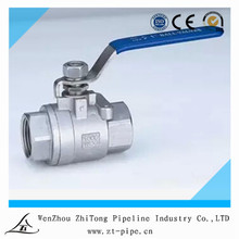 factory sale directly full port 2 piece stainless steel ball valve