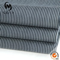 black and white men's fabric for office uniform