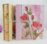 popular printed paper 4x6 paper albums with box in stock