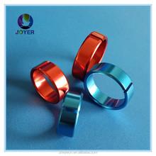 Hot selling Ring opening bird in china Aluminium ring Custom Aluminum Birds Foot Ring and Bird Leg Bands for Lovebird for Sale